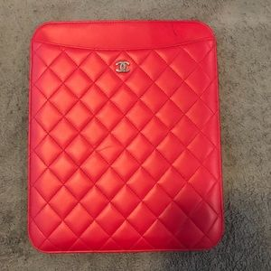 Chanel Quilted Tablet/IPad Case